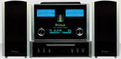 The McIntosh MXA60 Integrated Audio System retails for $7,500