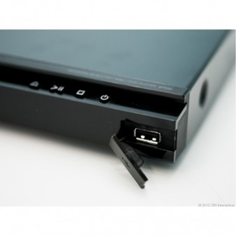 The LG BP620 Front panel USB Port