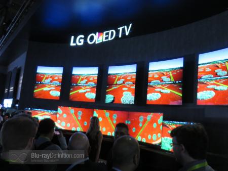 LG OLED Panel.