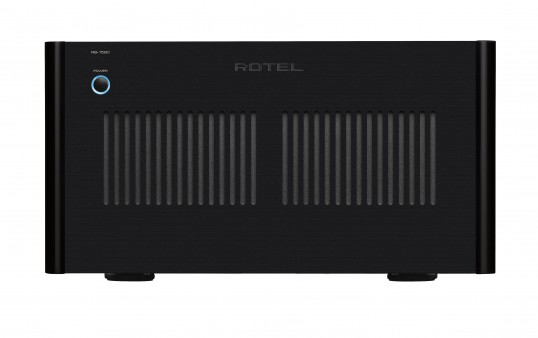 The Rotel RB-1590 Front Panel