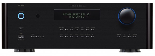 The Rotel RC-1590 Front Panel