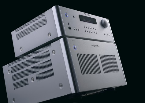 Rotel Stack: RC-1590 preamplifier and RB-1590 power amplifier