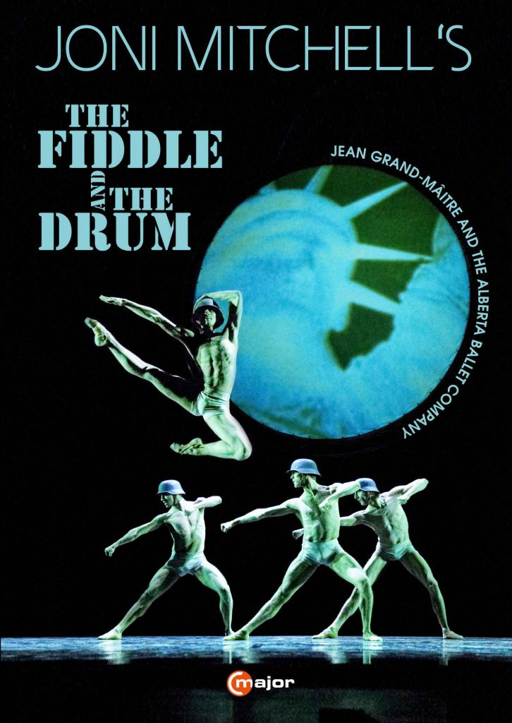 Joni Mitchell's The Fiddle and the Drum C Major Key Art