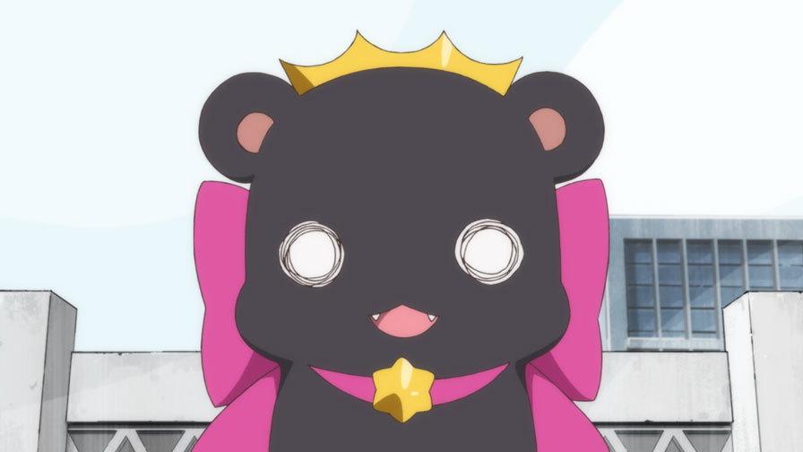 Ginko Yurishiro as a bear in anime series Yurikuma Arashi